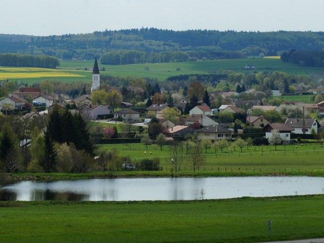 Vue sur Dounoux